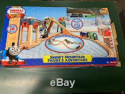 Thomas & Friends Wooden Railway Snowy Mountain Figure 8 Adventure Set