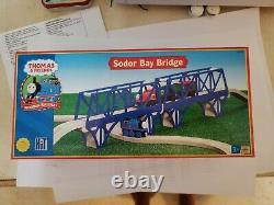 Thomas & Friends Wooden Railway Sodor Bay Bridge 2002 Absolutely Mint In Box