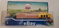 Thomas & Friends Wooden Railway Sodor Bay Cargo Ship 1994 Extremely Rare Htf