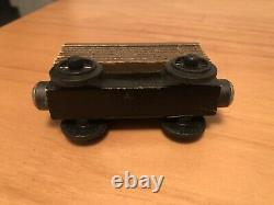 Thomas & Friends Wooden Railway Train 1994 WHITE FACE TROUBLESOME BRAKEVAN Brown