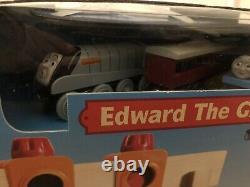 Thomas & Friends Wooden Railway Train Edward The Great Train Set New In Box