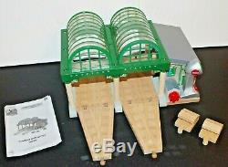 Thomas & Friends Wooden Railway Train Tank Engine Knapford Station with Microphone