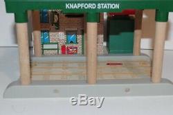Thomas & Friends Wooden Railway Train Tank Engine Talking Knapford Station GUC