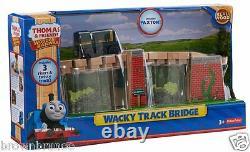 Thomas Friends Wooden Railway Wacky Track Bridge 3 Risers Twisty Track + Paxton