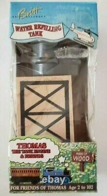 Thomas & Friends Wooden Railway Water Refilling Tank Rare 1994 Uk Package