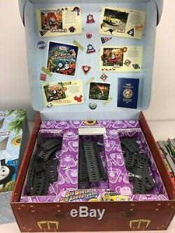 Thomas & Friends the Train MASSIVE Big World Big Adventures Collectors Box Rare