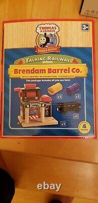 Thomas Talking Railway Brendam Barrel Co 1st Year Ed. New In Box Very Rare