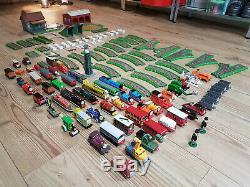 Thomas Tank Engine Ertl Vintage 2001 Huge Bundle Tracks Trains Extras Die Cast