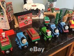 Thomas Tank Engine & Friends Wooden Railway Train Holiday CHRISTMAS TRAIN SETS