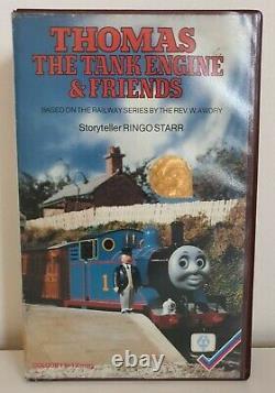 Thomas The Tank Engine And Friends Cassette 1 1984 Guild Precert Vhs Video Rare