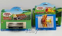 Thomas The Tank Engine Boco, Henry, Henry's Log Car, Bi-plane Model Set (drmp)
