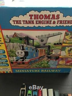 Thomas The Tank Engine Ertl Miniature Railway COMPLETE RARE train