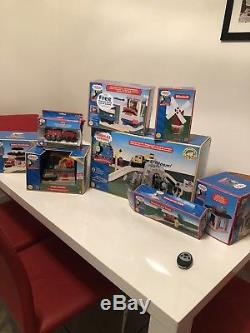 Thomas The Tank Engine & Friends Wooden Railway Huge Bundle -collectibles rare