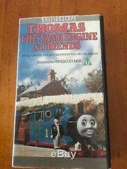 Thomas The Tank Engine Kaleidoscope VHS Tape (Rare Copy)