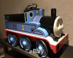 Thomas The Tank Engine Riding Ridabl Airflow Collectible Metal Train Pedal Car