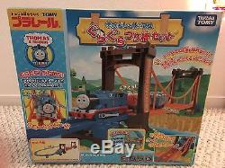 Thomas The Tank Engine Set of Rickety Suspension Japan Made (motorized)