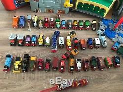 Thomas The Tank Engine & Take N Play Bundle Of Play Sets and 45 Trains Carriages