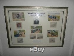 Thomas The Tank Engine The Art Of Reverend Awdry Limited Edition Framed Art Rare