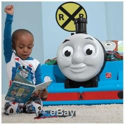 Thomas The Tank Engine Toddler Bed and Toy Box Bundle Play & Sleep