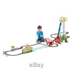 Thomas The Tank Engine TrackMaster SkyHigh Bridge Jump Action Toy Kids Motor Set