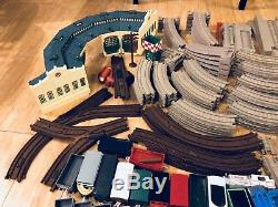 Thomas The Tank Engine Train Set Huge Lot Hit Toy Company Station Tracks