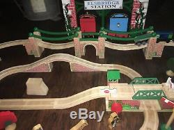 Thomas The Tank Engine Wooden Railway Tunnels And Bridges Playset Extra Trains