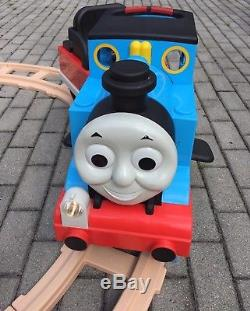 Thomas The Train Ride On Tank Engine Peg-Perego 6V with Battery, Charger, Track