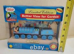 Thomas The Train Tank Engine Better View For Gordon Wooden Railway Collectible