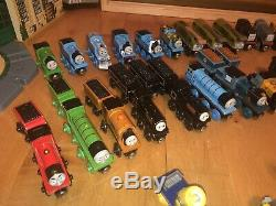 Thomas The Train Tank Engine Wooden HUGE Lot-Tidmouth Sheds-Vintage Collection