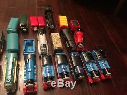 Thomas The Train Trackmaster Track Trains Cranky Bridge Ect. Huge Lot