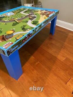 Thomas The Train Wooden Railway Play Table with Trains & Accessories