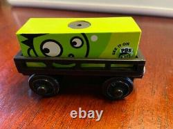 Thomas Train Wooden ultra rare PBS kids cargo promotional