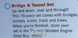 Thomas Wooden Railway Bridge And Tunnel Set (LC99542) New In Box! Rare