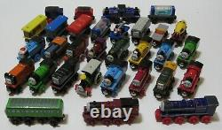Thomas Wooden Railway Railroad Wood Engine Boxcar Train Track Lot SEE ALL PICS