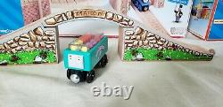 Thomas Wooden Railway Sodor Sweets Factory Rare Teal Troublesome Truck Nib