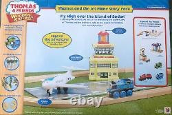 Thomas Wooden railway Thomas And The Jet Plane Story Pack LC99557 New! Rare