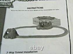 Thomas and Friends Track Master Tidmouth Sheds with tunnel & track vgc P1