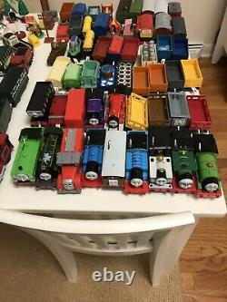 Thomas and Friends Trackmaster Motorized Train Engine & Cars Lot TOMY Hit Mattel