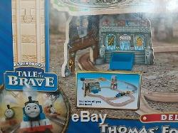 Thomas and Friends Wooden Railway Fossil Run Set, Tale of the Brave New