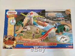 Thomas and Friends Wooden Railway Pirate Cove Discovery Set NIB New Sodor Train