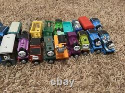 Thomas and friends wooden railway train lot