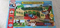 Thomas at Tidmouth sheds track-master sets