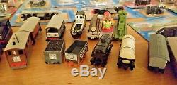 Thomas the Tank Engine Ertl Shining Time Station Diecast LOT of 85+ used