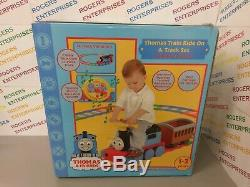 Thomas the Tank Engine & Friends Ride on Train & Track set rechargeable 6V 1-3Yr