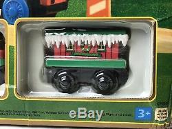 Thomas the Tank Engine & Friends Wooden Railway Train Holiday Around Tree Set