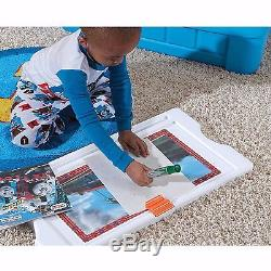 Thomas the Tank Engine Toddler Bed & Art Box Storage Kids Room Furniture Bundle
