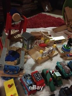Thomas the Tank Engine Wooden Railway Lot! Lots of Trains, Accesories and Tracks