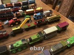 Thomas the Tank Engine train huge Wooden lot of 85 Pieces knapford express