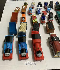 Thomas the Tank Engine train lot 80 Trackmaster motorized Diecast Wooden cars