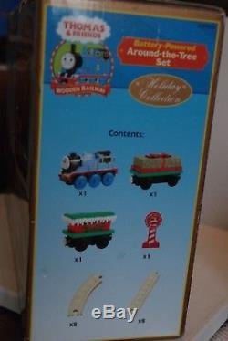 Thomas the Train & Friends Tank Engine Wooden Railway Around the Tree Set NEW